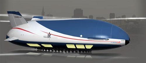 美国世界航空公司研发设计出新一代豪华飞艇