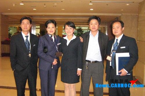国航西南分公司地服部领导走访公司协议宾馆