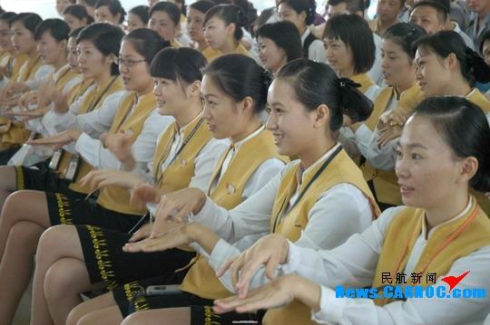 关爱聋哑人 美兰机场组织员工开展手语培训