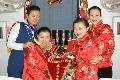 南航新疆分公司乘务员万米高空共庆奥运新年