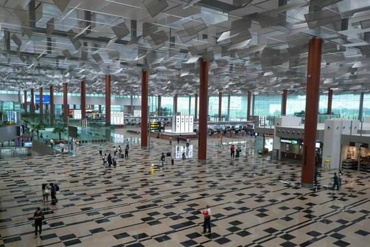 新加坡机场平面图高清