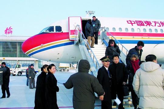 榆林新机场试飞成功 计划3月底正式投入运营