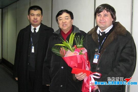 奥凯航空公司领导开展春节慰问一线员工活动