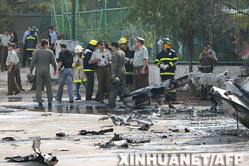 6人,属于智利军警航空俱乐部.27日上午9时45分,飞机按计划从圣图片