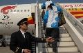 奥运圣火抵达深圳 开始国内第五站圣火传递
