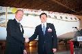 大新华快运航空引进首架Embraer190喷气飞机
