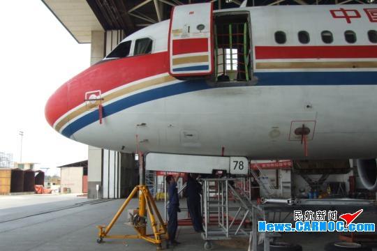 东航西安维修基地积极筹备A320飞机8C检工作