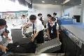 东航上海保障部出色完成韩男足航班保障任务