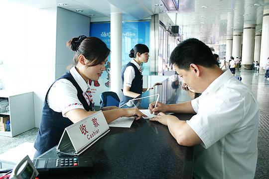 真情服务为聋哑旅客献爱心