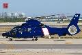 中国东海区海监直升机进行恢复性训练飞行