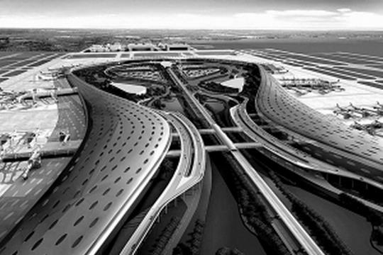 图1:合肥新桥国际机场三期效果图