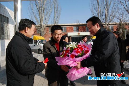 东航甘肃分公司岁末喜迎第十五个航空安全年