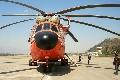 M-26直升机紧急调机 跨省支援四川盐源火场