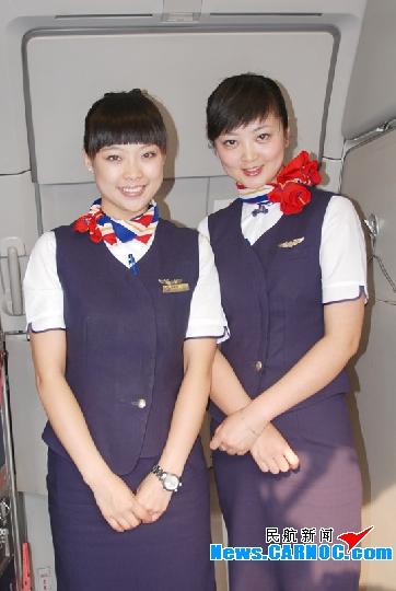 东航甘肃与安徽、山东客舱学习交流空中服务