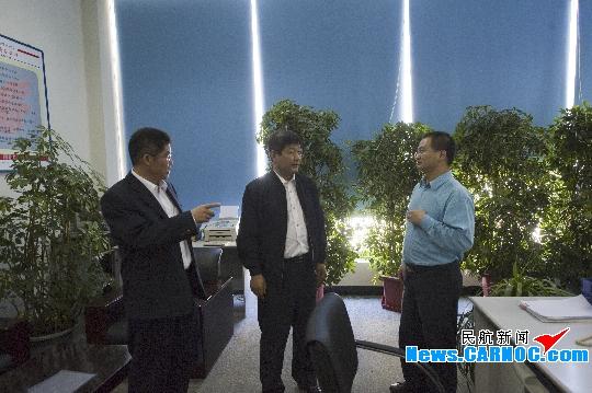 国航西南陈志勇前往西藏分公司检查指导工作
