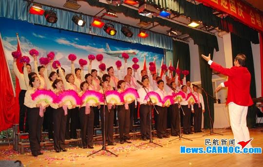 东航甘肃举办丰富文化活动喜迎新中国60华诞