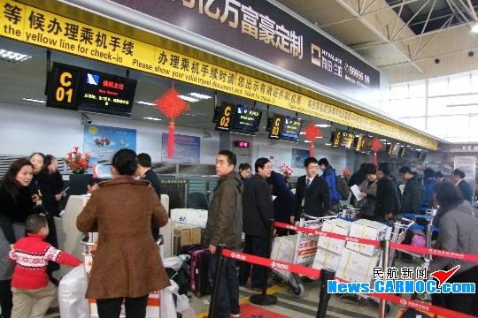 东航江西各部门通力合作 春节长假安全运行