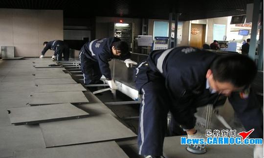 青岛流亭机场春季设备换季检修工作全面展开