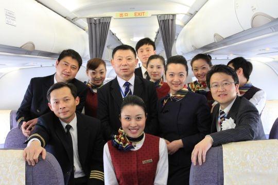 国航西南客舱圆满完成成都-浦东-名古屋首航