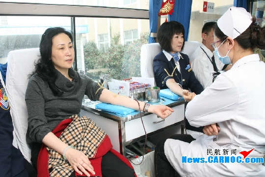 青岛流亭国际机场积极组织员工进行无偿献血