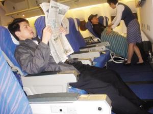 南航高端經濟艙:比頭等艙實惠 比經濟艙舒適圖片