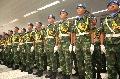 东航上海飞行部安全保障维和部队出征黎巴嫩