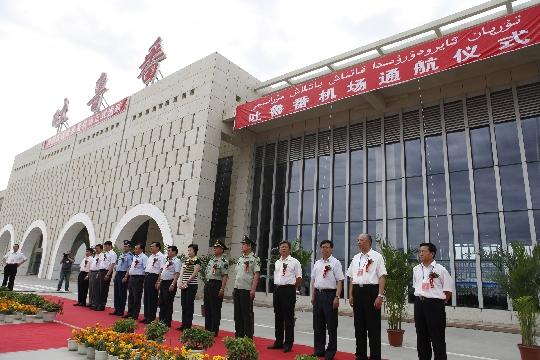南航圆满完成吐鲁番机场首航 添枢纽新支点
