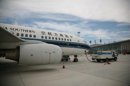 南航成功首航博乐 开通疆内第十五个通航点