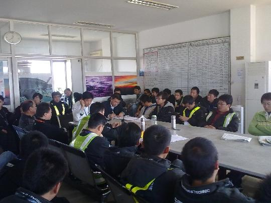 东航北京空客一车间对百日安全进行动员部署