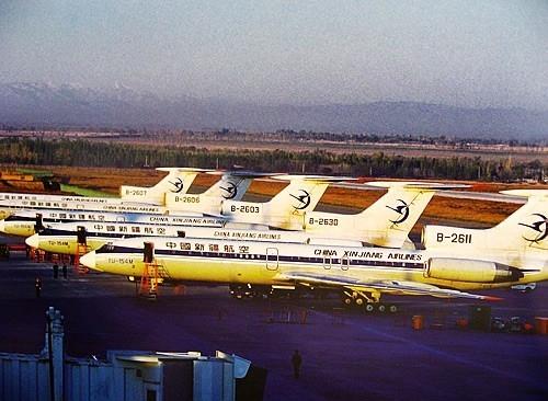 【追踪】中国新疆航空昔日飞机今安在?