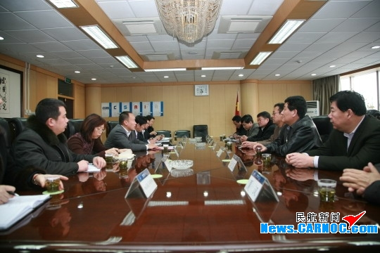 南航新疆分公司與阿克蘇新年會談共迎新發展