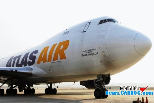 呼和浩特机场执行B747-400型全货机动物保障