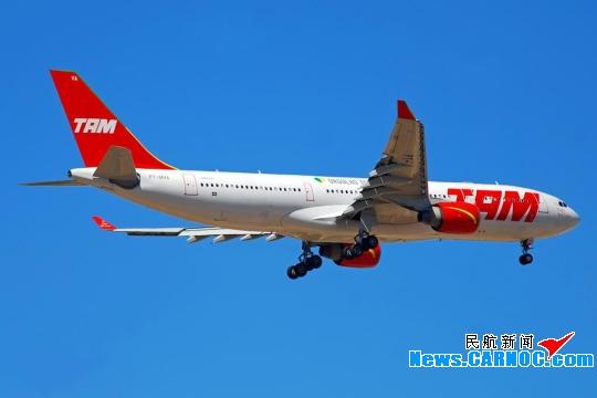 巴西塔姆航空公司斥資32億美元購買34架飛機