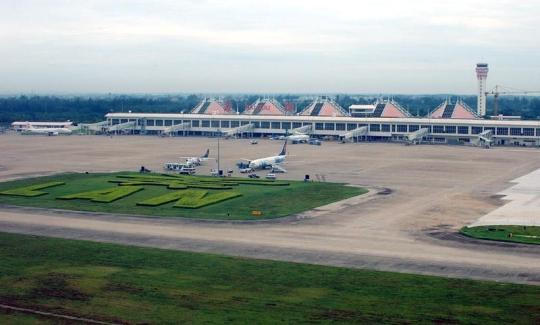 海口美兰机场_图1:海口美兰国际机场全景