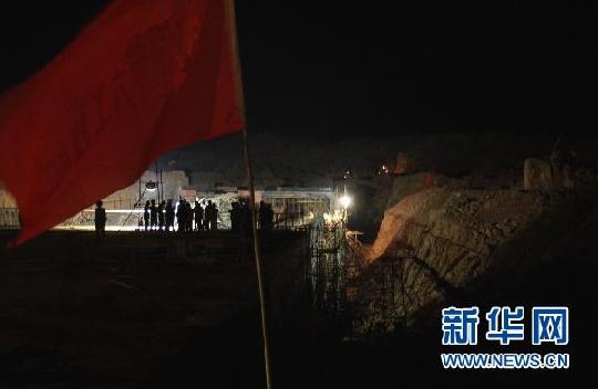 昆明新机场工地再出垮塌事故 造成11人受伤