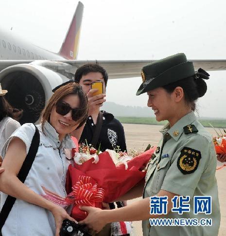 山海關機場開通至韓國首爾國際旅游包機航線