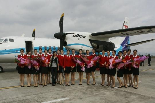 全新国产新舟600落户民航飞行学院广汉分院