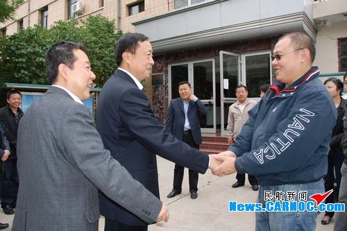 民航西北管理局领导莅临甘肃分公司检查指导