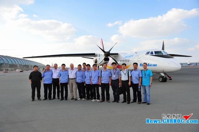 新舟600已飞抵迪拜 每天一场8分钟飞行表演