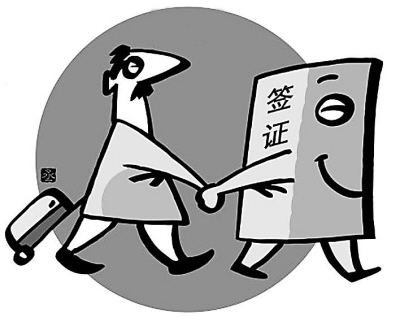 图1:外国人入境中国或在中国停留,必须持有中国签证(朱丞绘图)