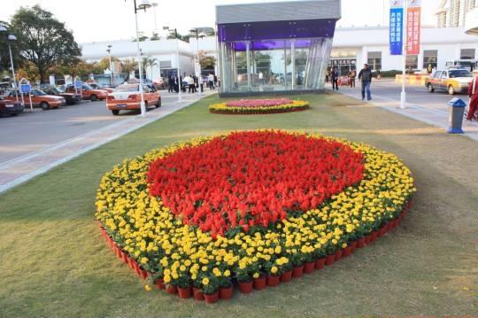 春节花坛设计