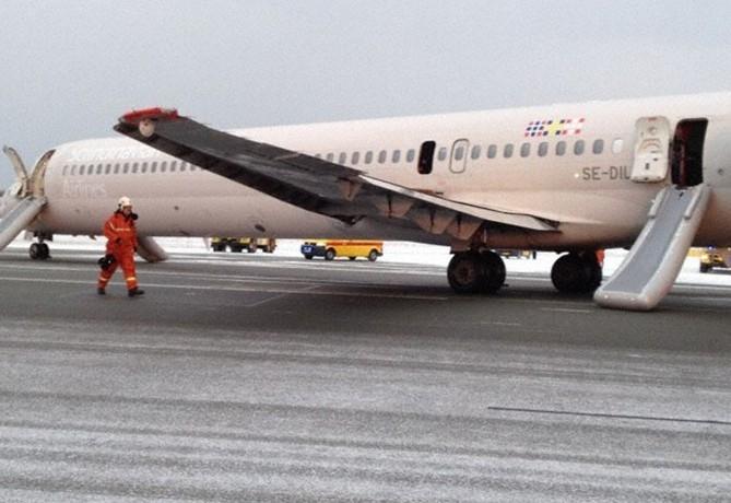 客机引擎故障烟雾满舱 挪威王太子行程受阻