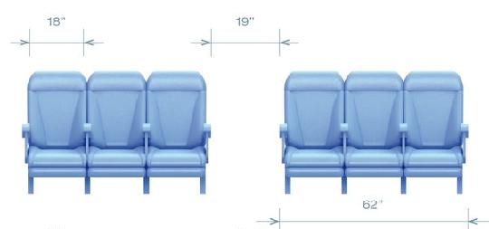 图:空中客车a320飞机经济舱座位配置图片