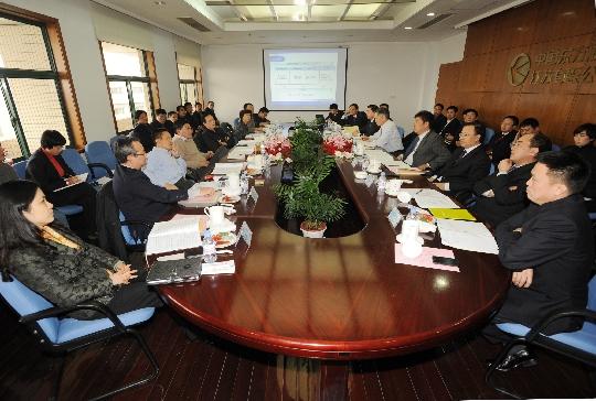 国务院国有重点大型企业监事会调研江苏东航