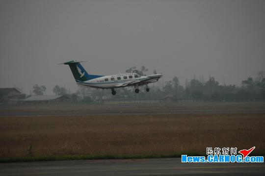 云南省旱区飞机人工增雨 三星通航义不容辞