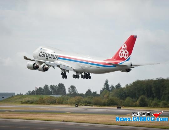 卢森堡货运航空正在就747-8F延期交付进行磋商