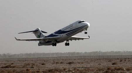 ARJ21-700新支线飞机进行大侧风适应性飞行