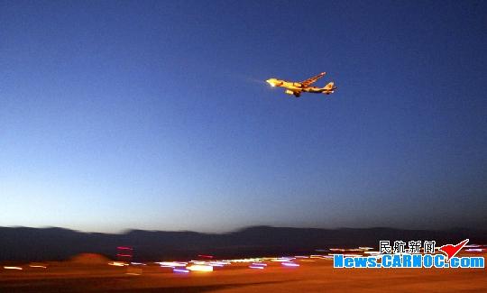 长水机场今日迎第二次试飞 A330-300执飞