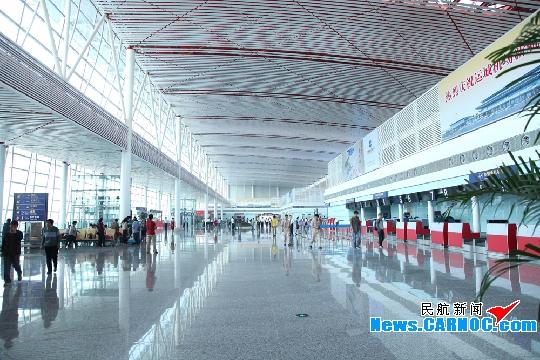 运城关公机场新航站楼5月9日正式投入试运行