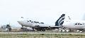 强风吹起波音747客机 事发在美国加利福尼亚
